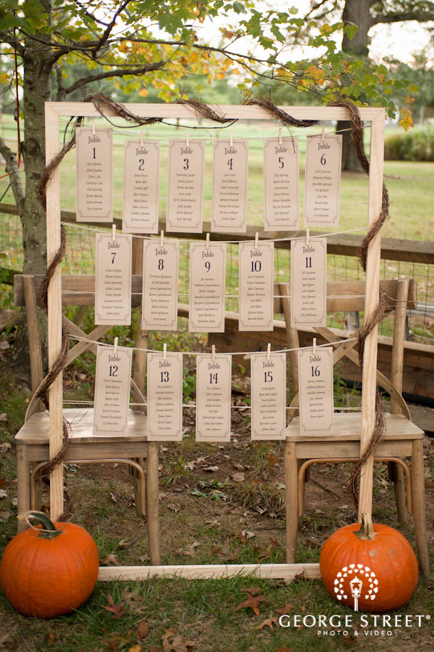 Table Assignment Decoration Wedding Inspiration From