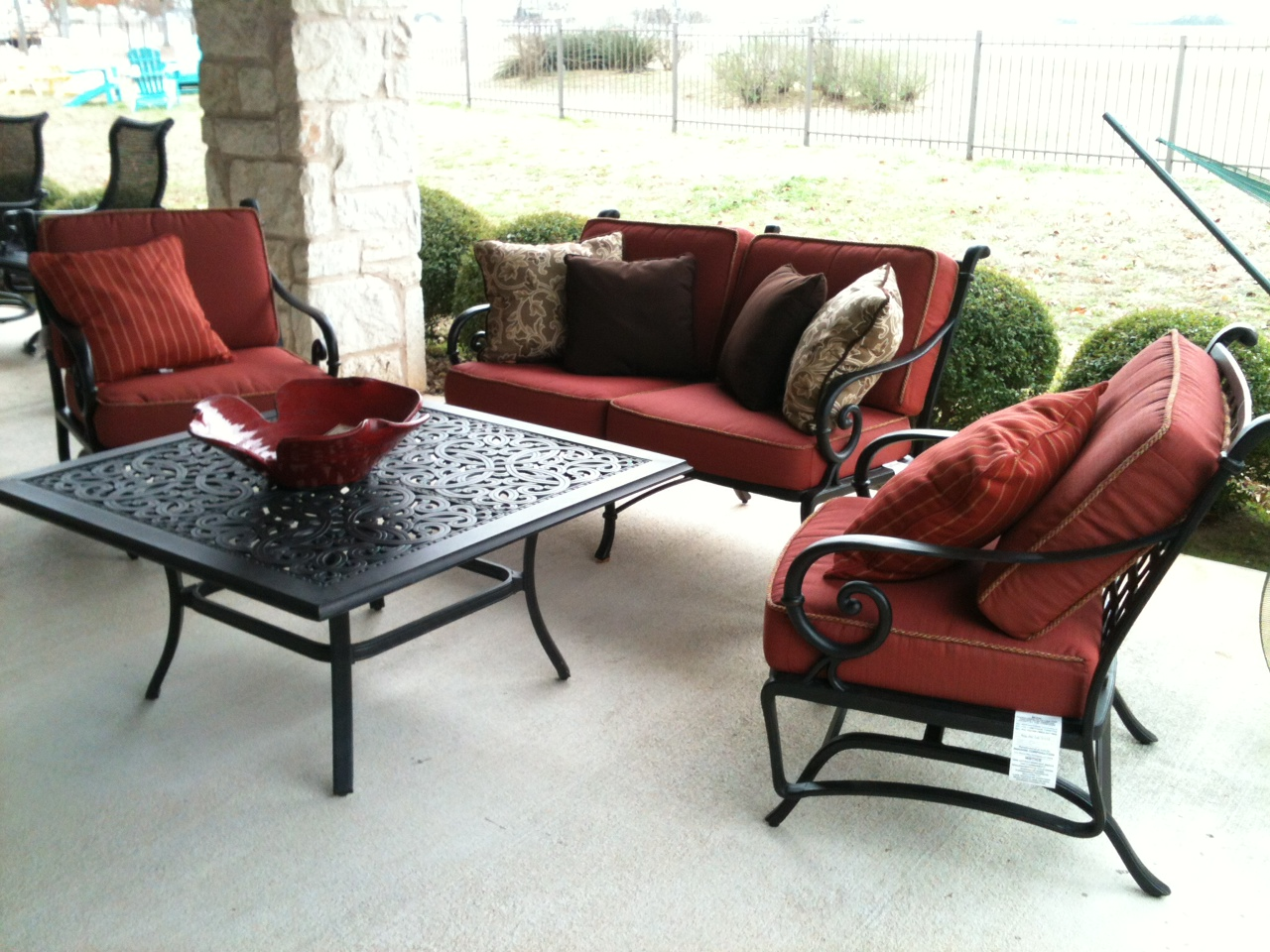 Clearance  Patio  Georgetown Fireplace and Patio