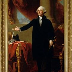 Walking Stick Chair Hanging Rail The Portrait - George Washington: A National Treasure