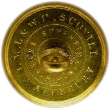 1830's Republic of Texas TX 1 RJ Silverstein's georgewashingtoninauguralbuttons.com R