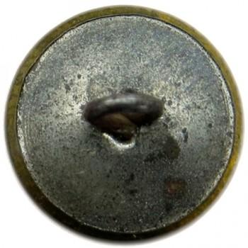 1840-50 Federal Artillery 15.08mm Gilt Brass Tin Back 12 Stars Arrows Down Unlisted Variant Only One Known RJ Silverstein's georgewashingtoninauguralbuttons.com R