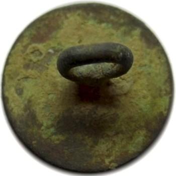 1774 Royal Navy Achor Cuff-Vest 14mm brass. RJ Silversteins georgewashingtoninauguralbuttons.com R