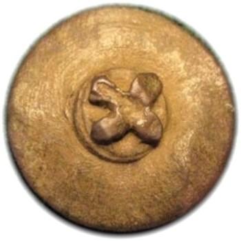 1776-79 44th Regt. French COAT Gilt Brass Royal Vaisseaux Dug Gloucester Point RJ Silversteins georgewashingtoninauguralbuttons.com R