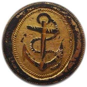 1787-1812 Captain - Commander Navy & Marines 22mm Gilt Brass orig shank georgewashingtoninauguralbuttons.com r