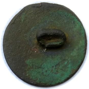 1792-1802 U.S. Infantry 9th Regiment 00.mm Gilt Brass 11-10-14 Gift R1