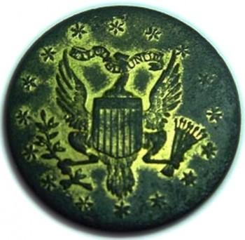 1798-1802 US Official Diplomatic 25mm J. Baldwin georgewashingtoninauguralbuttons.com O