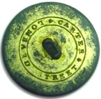 1798-1802 US Official Diplomatic 25mm J. Baldwin georgewashingtoninauguralbuttons.com R
