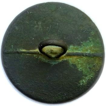 1798-1810 US Navy 24.31mm Brass 13 Stars Albert's NA 7 A.1 Orig. Shank RJ Silverstein's georgewashingtoninauguralbuttons.com R