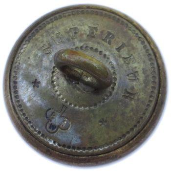 1800's Official Diplomat Service 17.99mm Gilt Brass Albert's OD 22 Unlisted BM RJ Silversteins georgewashingtoninauguralbuttons.com R