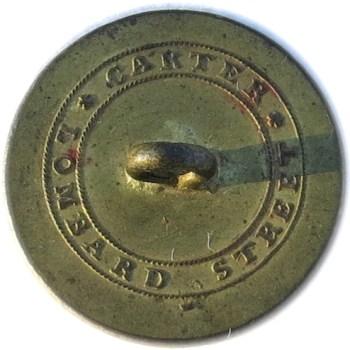 1802 US Navy 23mm Gilt Brass Orig Shank 16 six point stars RJ Silversteins georgewashingtoninauguralbuttons.com RR
