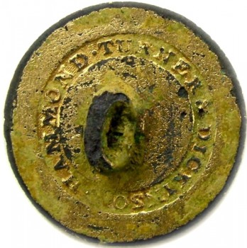 1805 Royal Navy Surgeon 21.8m Gilt Brass georgewashingtoninauguralbuttons.com R