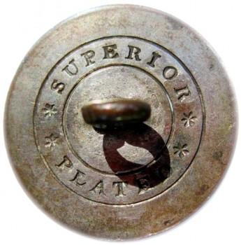 1812-1830 NY 10-A Post Revolution New York Militia 23mm georgewashingtoninauguralbuttons.com R