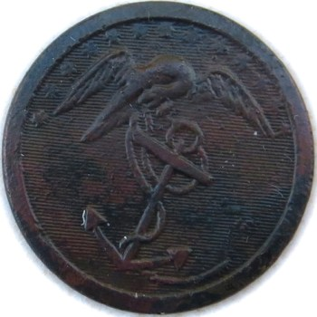 1820's Marines 22.89mm Brass rj silversteins georgewashingtoninauguralbuttons.com O