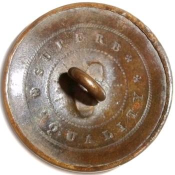 1820's Texas Navy 23mm Brass Scarce Unlisted RJ Silverstein's georgewashingtoninauguralbuttons.com T-51 R
