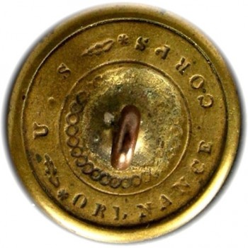 1830-40's Federal Ordnance Flaming Bomb Georgewashingtoninauguralbuttons.com R