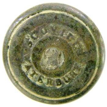 1830-40's Texas Dragoons 19.3mm 2-piece Convex RJ Silverstein's georgewashingtoninauguralbuttons.com R