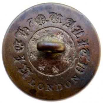 1830's Maine Militia Northern Star 21mm. Brass georgewashingtoninauguralbuttons.com r