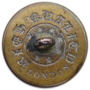 1830's Maine State Militia Northern Star 21.63mm. Gilt Brass ME100A.1 - ME 4 Georgewashingtoninauguralbuttons.com R