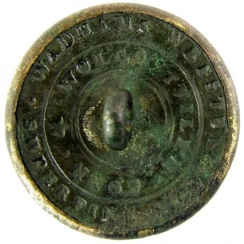 1838-46 Boston City Guard 22.5mm 3-piece officer gilded brass albert MS 56 georgewashingtoninauguralbuttons.com r