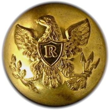 1840-50's Federal Riflemen Albert RF 17 2-Piece georgewashingtoninauguralbuttons.com O2