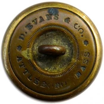 1845-59 Massachusetts Boston City Guard 22.94mm Brass Albert's MS 57 : Tice's MS 232 A.2 RJ Silversteins georgewashingtoninauguralbuttons.com R