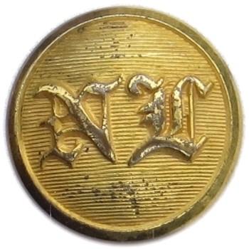 1850-60's Massachusetts National Lancers 15.32m Gilt brass MS 260As.1 - MS 74 georgewashingtoninauguralbuttons.com O