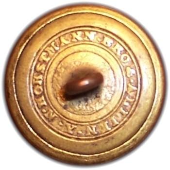1850-61 Pennsylvania Militia PA 203 A.1 23mm Gilt Brass Georgewashingtoninauguralbuttons.com O