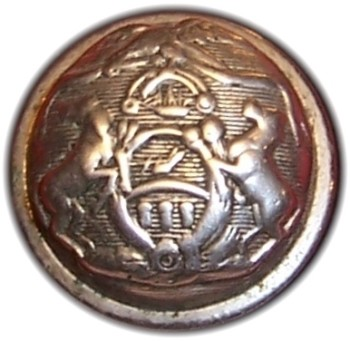 1850-61 Pennsylvania Militia PA 203 C.2 22mm PA 18C Silver'd Georgewashingtoninauguralbuttons.com R