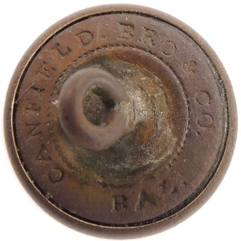 1857-60's Maine Militia 14.7mm gilt Brass 3-piece ME 1 ME200As.2 RJ Silversteins georgewashingtoninauguralbuttons.com R