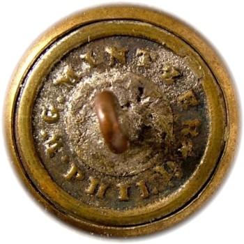 1860-65 Alabama Vol. Corps 20.09mm Gilt Brass AB3C AB218A.1 RJ Silversteins georgewashingtoninauguralbuttons.com R