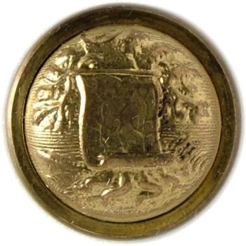 1860 Alabama Officer's Staff Button 15mm Gilt Brass Tice AB200As.1 - AB1Av.1 RJ Silversteins georgewashingtoninauguralbuttons.com O