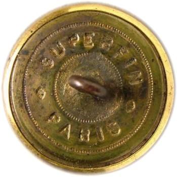 1860's Alabama Officer's Staff Button 23mm Gilt Brass Tice AB200A.2 - AB1A.5 RJ Silversteins georgewashingtoninauguralbuttons.com R