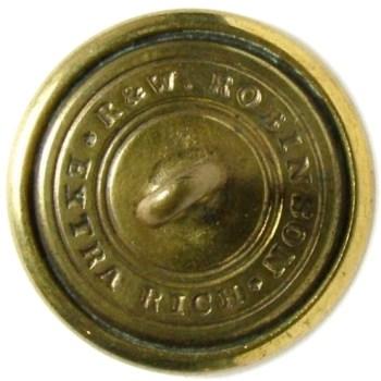 1860's Federal Engineers 22.5mm Gilt Brass Albert EG6 Tice EG215E.1 RJ Silversteins georgewashingtoninauguralbuttons.com R