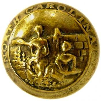 1860's north carolina 23mm gilt brass NC 8B rj silverstein georgewashingtoninauguralbuttons.com O