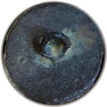 Post Rev War GR Silver Cuff 16.71mm Tinned or Silver'd Orig. Shank R