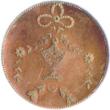 Cobb George Washington Mouring Button