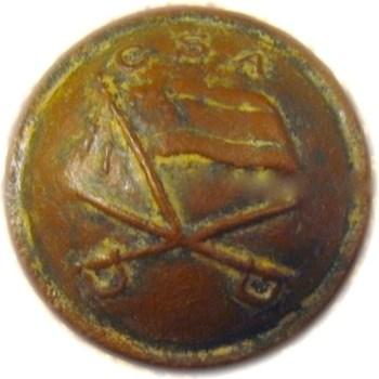 1860-65 Confederate States Jeb Stuart Button