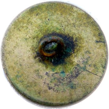 18th Century Jesuit Button Gilt Brass 32.69mm Cape Button R