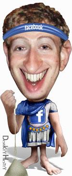 Karrikatur Mark Zuckerberg (CC) DonkeyHotey