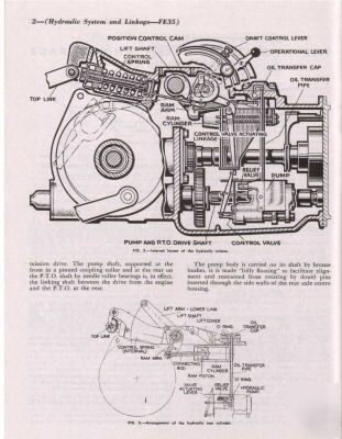 Massey ferguson TEA20 FE35 tractor workshop manual