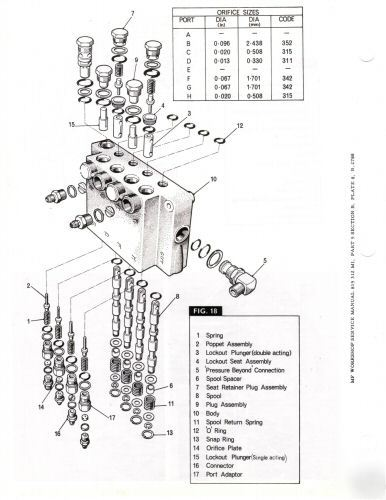 Massey ferguson mf 410 & 510 combine workshop manual uk