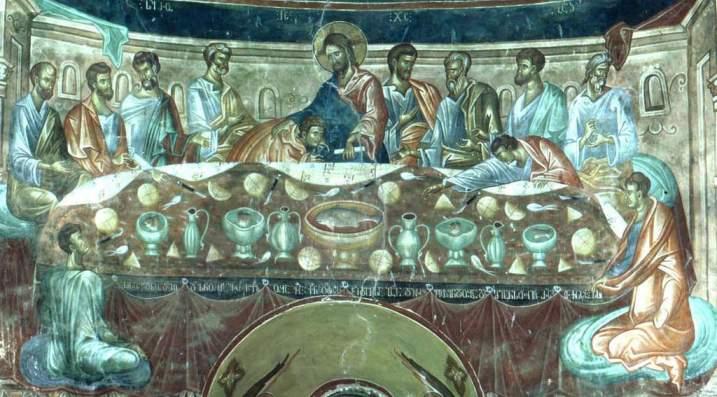 The_Last_Supper._Ubisa_monastery_(Damiane_14th_century)