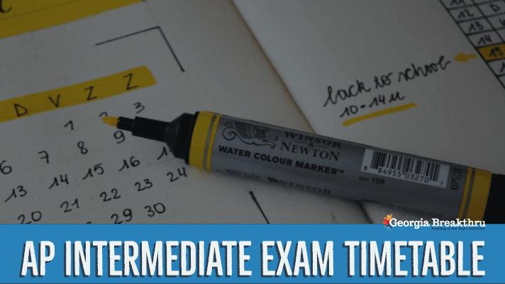 AP Inter Exam Time table 2020 -bieap