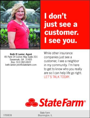 beth lanier state farm