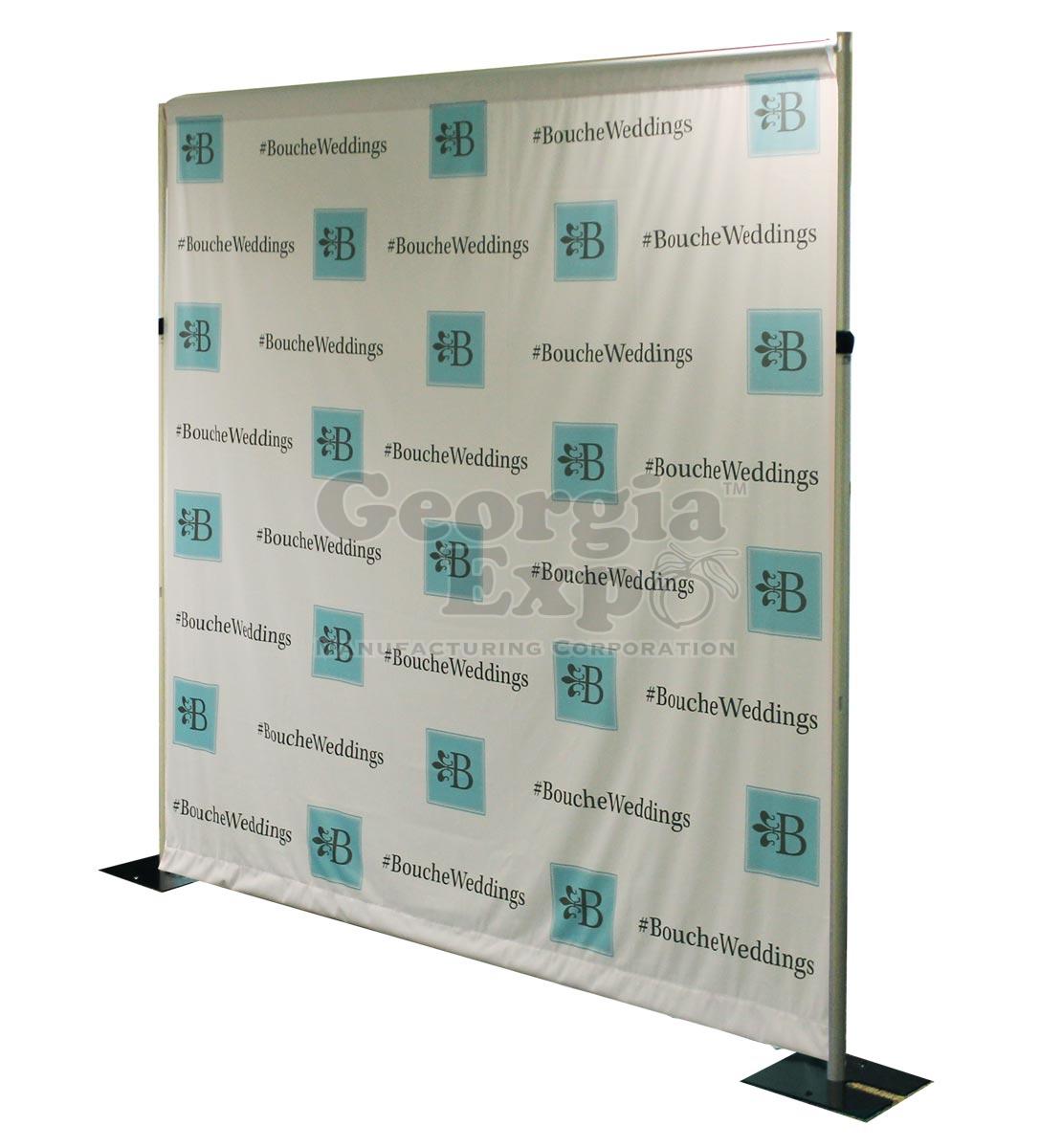 custom fabric backdrop any