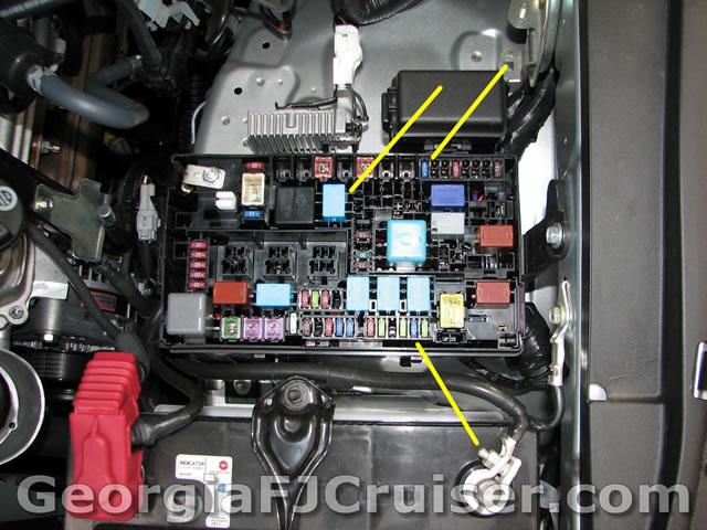Fj Cruiser Trailer Wiring Harness Installation Fj Cruiser Oem