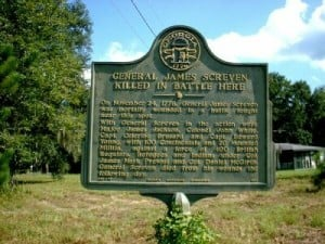 General James Screven Historical Marker