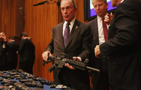 """Bloomberg In Atlanta: Second Amendment Is """"On The Ropes"""""""