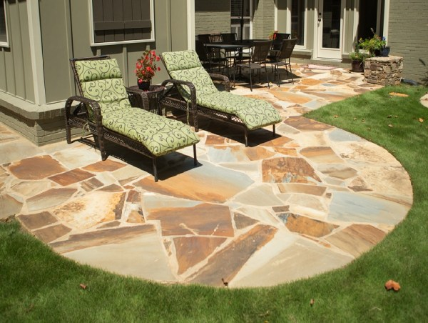flagstone landscaping rocks