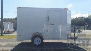 6 x 10 Tandem Axle Enclosed Trailer Premium Image